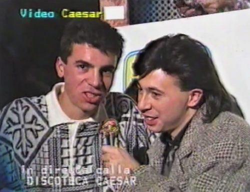 Dj Match novembre 1986 discoteca Caesar Silvi Marina