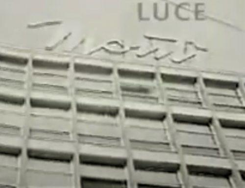 Pescara – inaugurazione storica Magazzini Monti negli anni '60