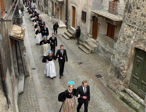 1969 cerimonia del matrimonio tipico abruzzese di Scanno su Rai Storia